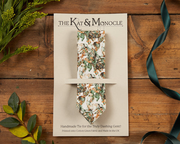 Mens Handmade Ties - The Urban Jungle - [product-type] - Inclusive Trade
