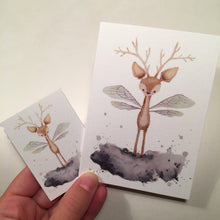 Small and large greeting card