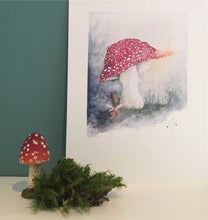 The magnificent mushroom - Plakat
