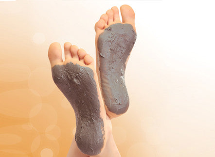 Moroccan Ghassoul Clay Mask for your feet?