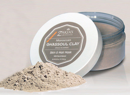 Ghassoul Clay Mask for luxurious, healthy hair.