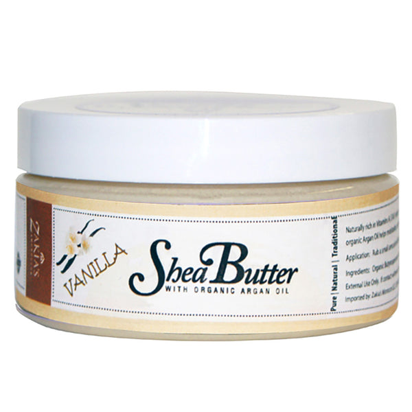 Shea Butter with Organic Argan Oil - Vanilla