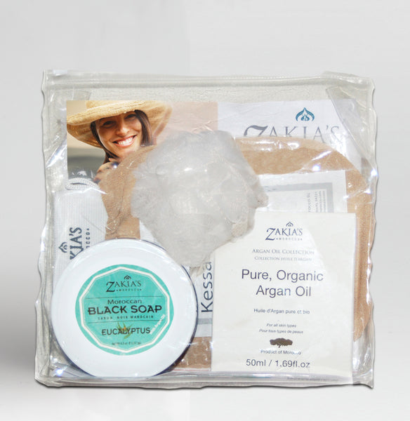 Argan Oil Bath & Body Gift Sets - Eucalyptus