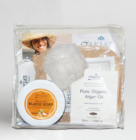 Hammam Home Spa Gift Set - Amber Musk
