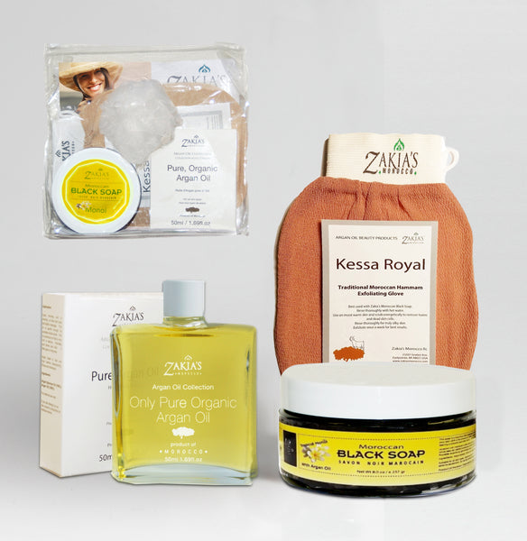 Argan Oil Bath & Body Gift Sets - Tropical Monoi