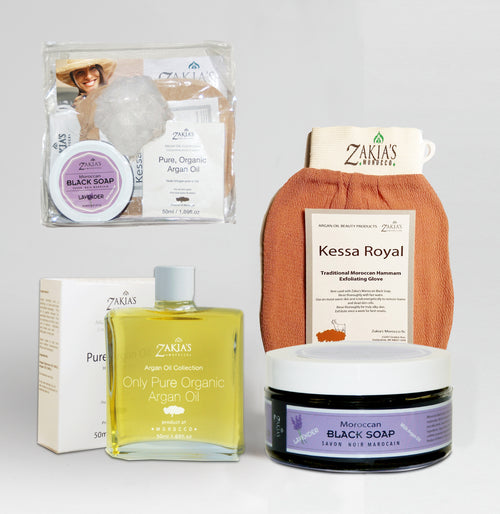 Argan Oil Bath & Body Gift Sets - Lavender