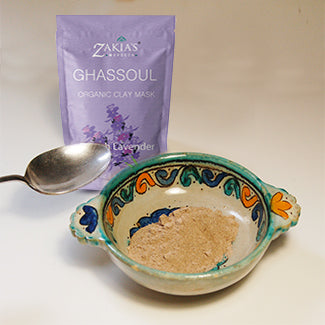 "Ghassoul ""Rhassoul"" Clay Mask  - Lavender - 8 oz"