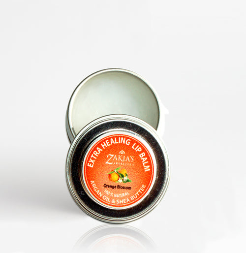 EXTRA HEALING Argan & Shea Lip Balm - Orange Blossom