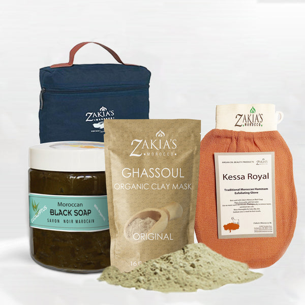Moroccan Bath & Shower Set - Eucalyptus