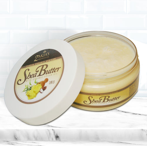 Organic Argan Shea Body Butter - Natural formula
