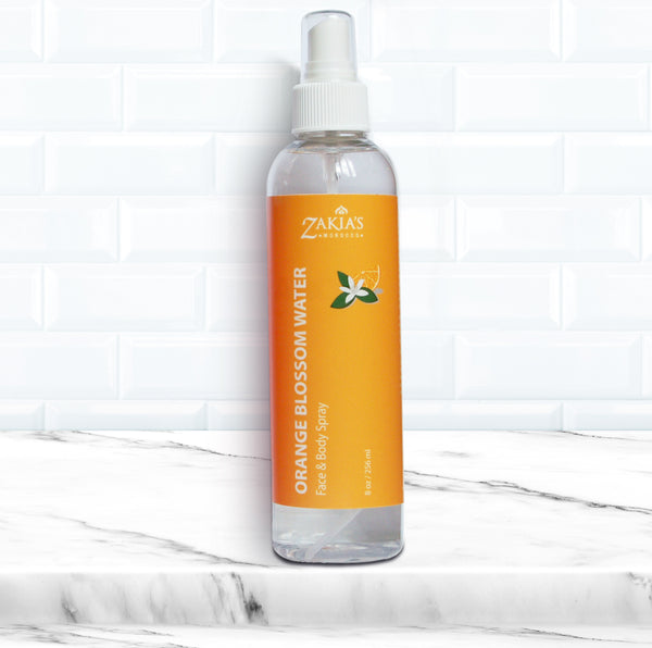 Orange Blossom Water Facial Toner