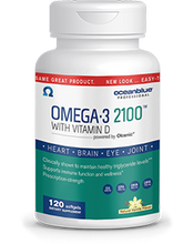 Omega-3 2100 with Vitamin D3 120ct