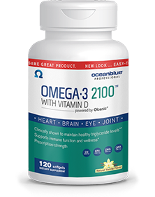 Omega-3 2100 with Vitamin D3 120ct - 3 Month Subscription