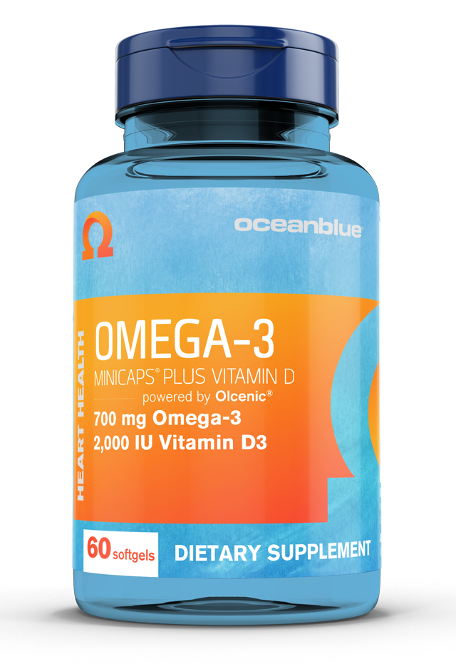 OMEGA-3 MINICAPS PLUS VITAMIN D