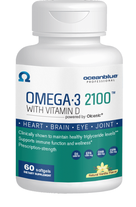 Omega-3 2100 with Vitamin D3 60ct