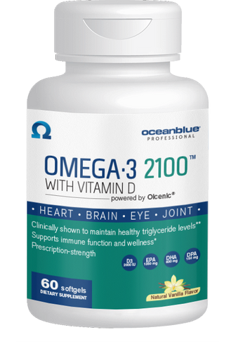 Omega-3 2100 with Vitamin D3 60ct - 3 Month Subscription