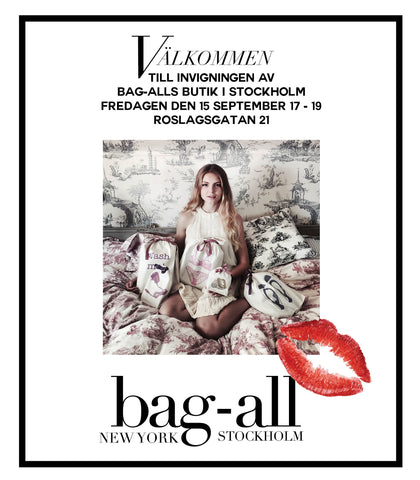 Invigning av Bag-all butik