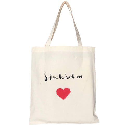 Stockholm heart tote