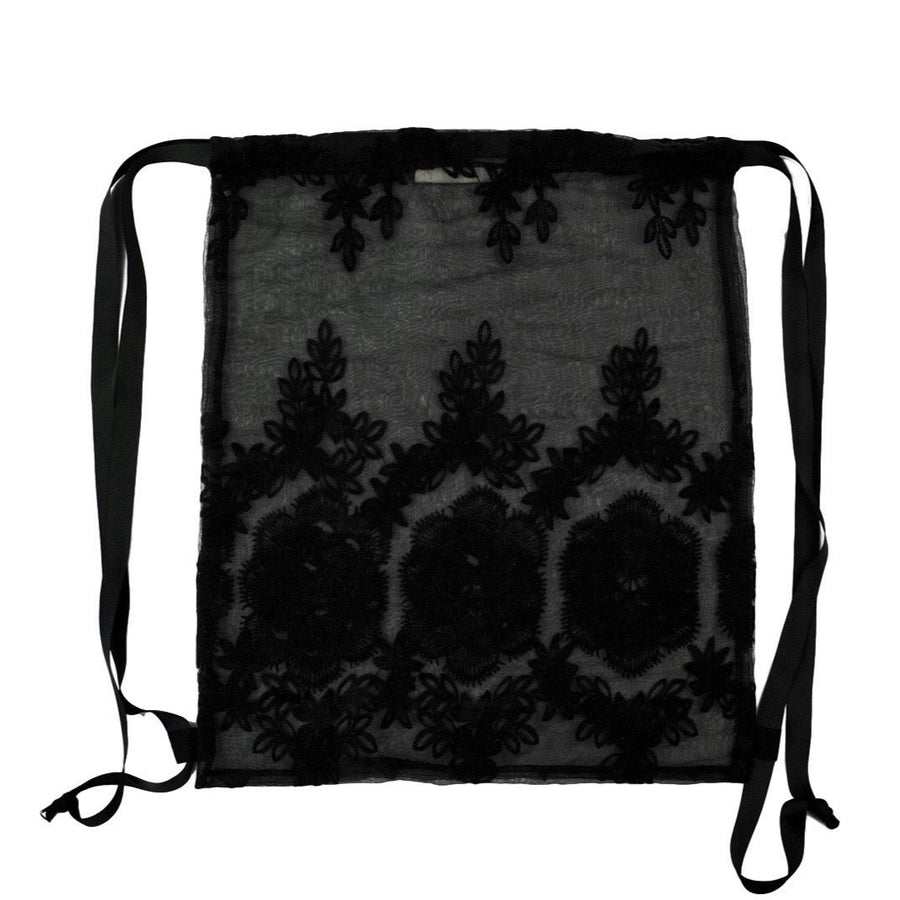 Lace Backpack Black - Bag-all Europe