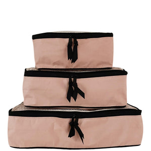 BA Traveler Organizing Bags Pink Blush 8-pack - Bag-all Europe
