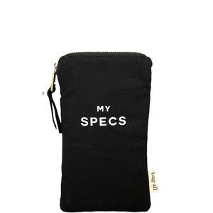 Specs With Pocket Black Glasses Case - Bag-all Europe