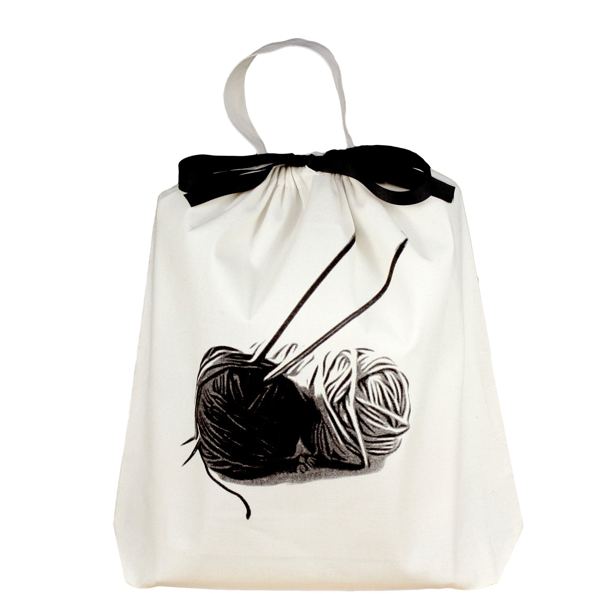 Knitting bag for your yarn and needles.