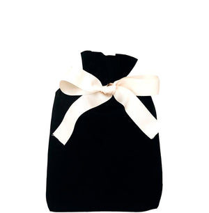Gift Bag Black Medium