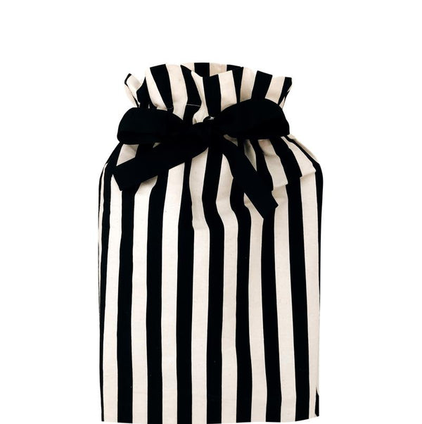 Gift Bag Striped Medium