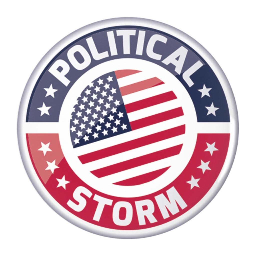 Political Storm Button