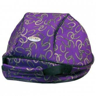 WOW Helmet Carrier Purple Bag - Hat - A - Tack
