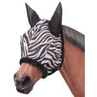 Tough -1 Zebra Mesh Fly Mask