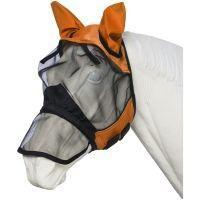 Tough 1® Deluxe Comfort Mesh Fly Mask with Mesh Nose