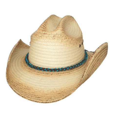 Bullhide All Eyes On You Natural Straw Cowboy Hat  - Hat - A - Tack