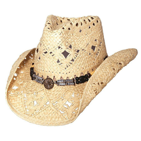 Bullhide All Summer Long Natural Straw Cowgirl Hat - Hat - A - Tack