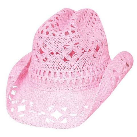 Bullhide April Pink Childrens Cowgirl Hat - Hat-A-Tack