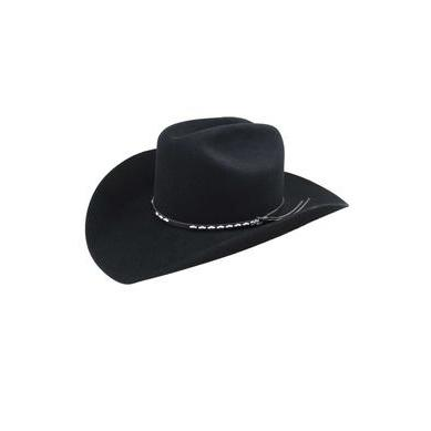 Bailey Alamo 2X Black Wool Cowboy Hat - Hat - A - Tack