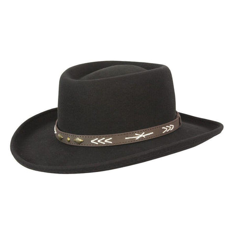 Arizona Gambler Wool Outback Hat