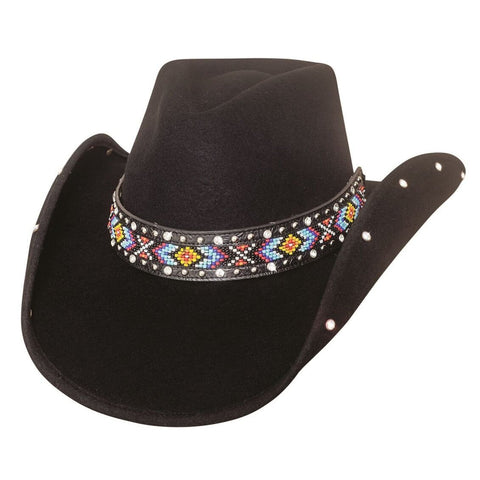 Bullhide Bad Axe River Black Wool Cowgirl Hat- Hat-A-Tack