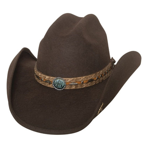 Bullhide Been In The Sun Chocolate Wool Cowboy Hat- Hat-A-Tack