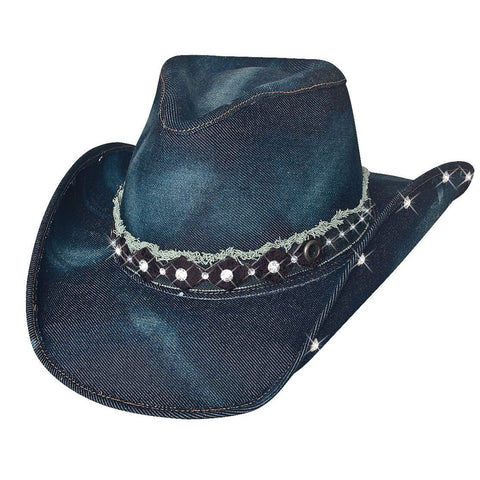 Bullhide Better Than Yesterday Blue Denim Cowgirl Hat - Hat-A-Tack
