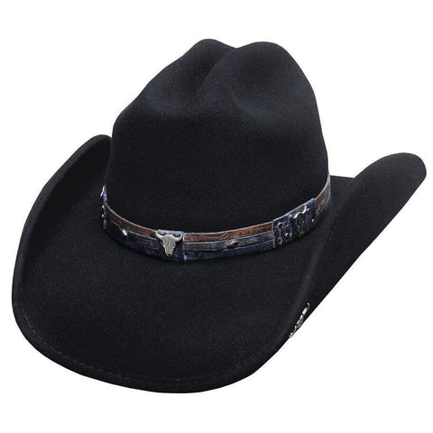 Bullhide Biting The Dust Black Wool Cowboy Hat- Hat-A-Tack