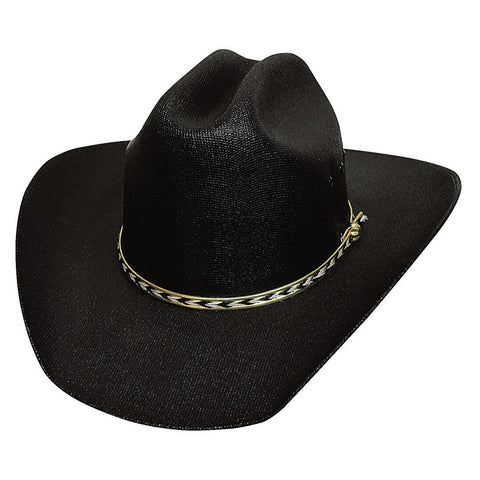Bullhide Buddy Black Straw Childrens Hat- Hat-A-Tack