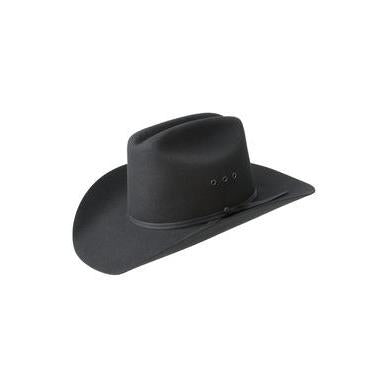 Bailey Bucky Black Wool Childrens Cowboy Hat - Hat - A - Tack