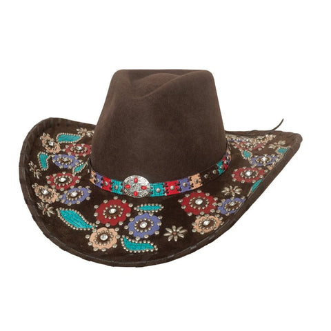 Bullhide Country Love Song Chocolate  Wool Cowgirl Hat - Hat-A-Tack