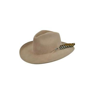 Bailey Calico Camel LiteFelt Wool Hat - Hat - A - Tack