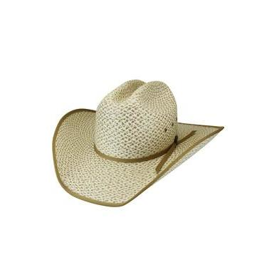 Bailey Chaparral Ivory/Camel Straw Cowboy Hat - Hat - A - Tack