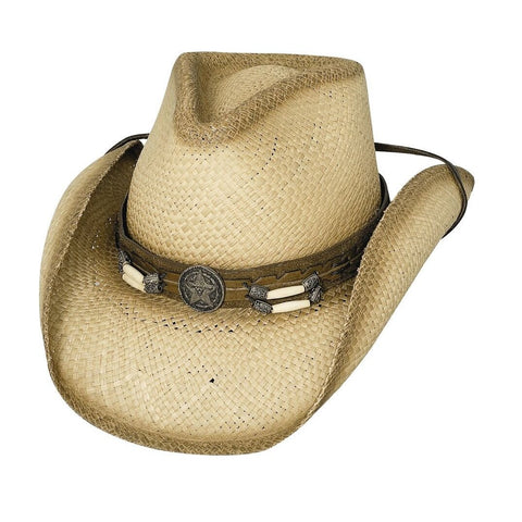 Bullhide Dundee Natural Straw Cowboy Hat - Hat-A-Tack