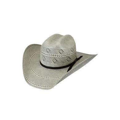 Bailey Dade 20X Ivory/Light Grey Straw Cowboy Hat - Hat - A - Tack