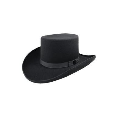 Bailey Dillinger Black Wool Top Hat - Hat - A - Tack