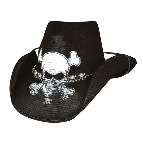 Bullhide Endless Ride Black Straw Cowboy Hat - Hat-A-Tack